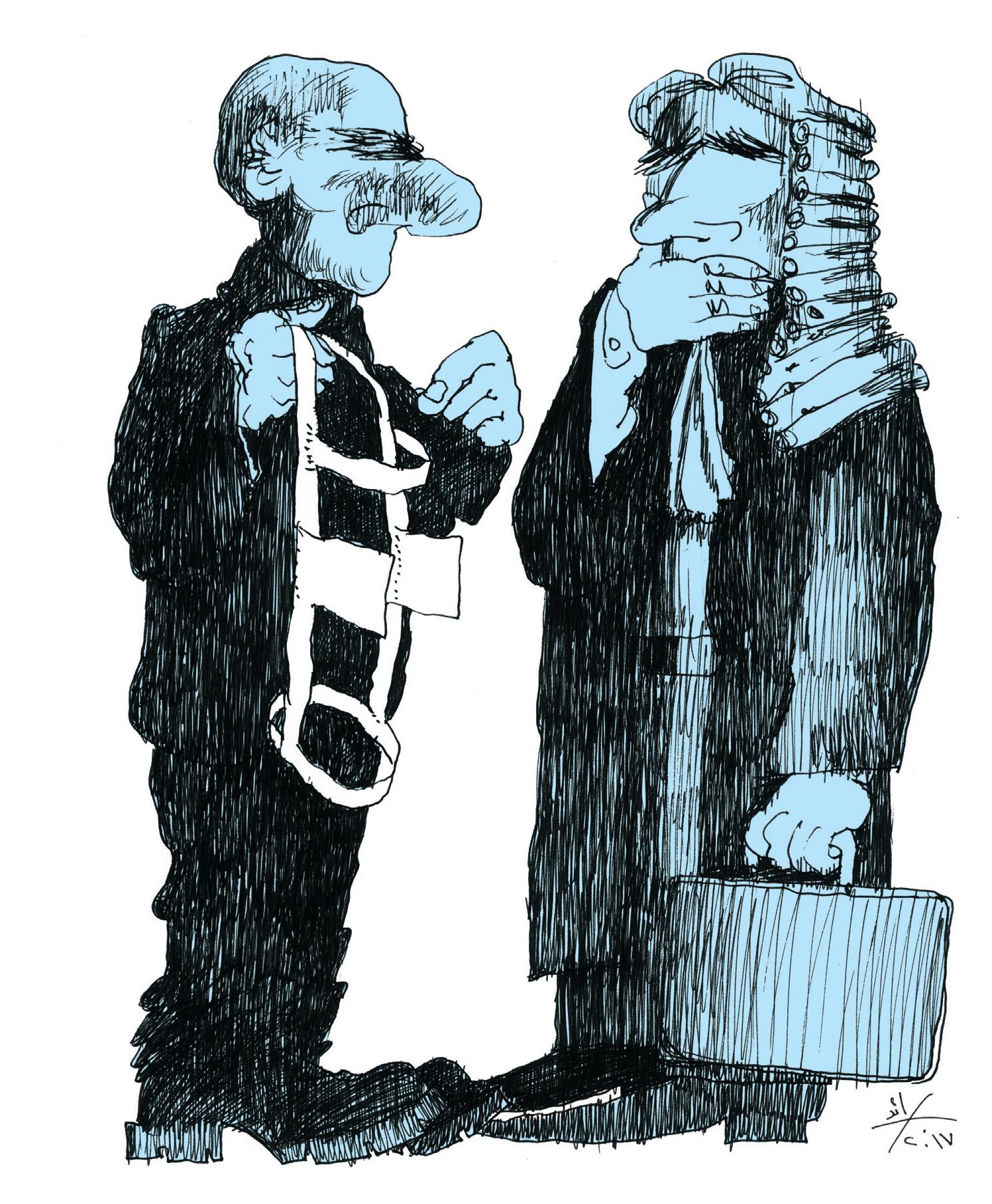 استقالة قاضٍ مشتبه به بالإرتشاء (1): الوزير يقمع حرية القضاة تكريسا لروايته