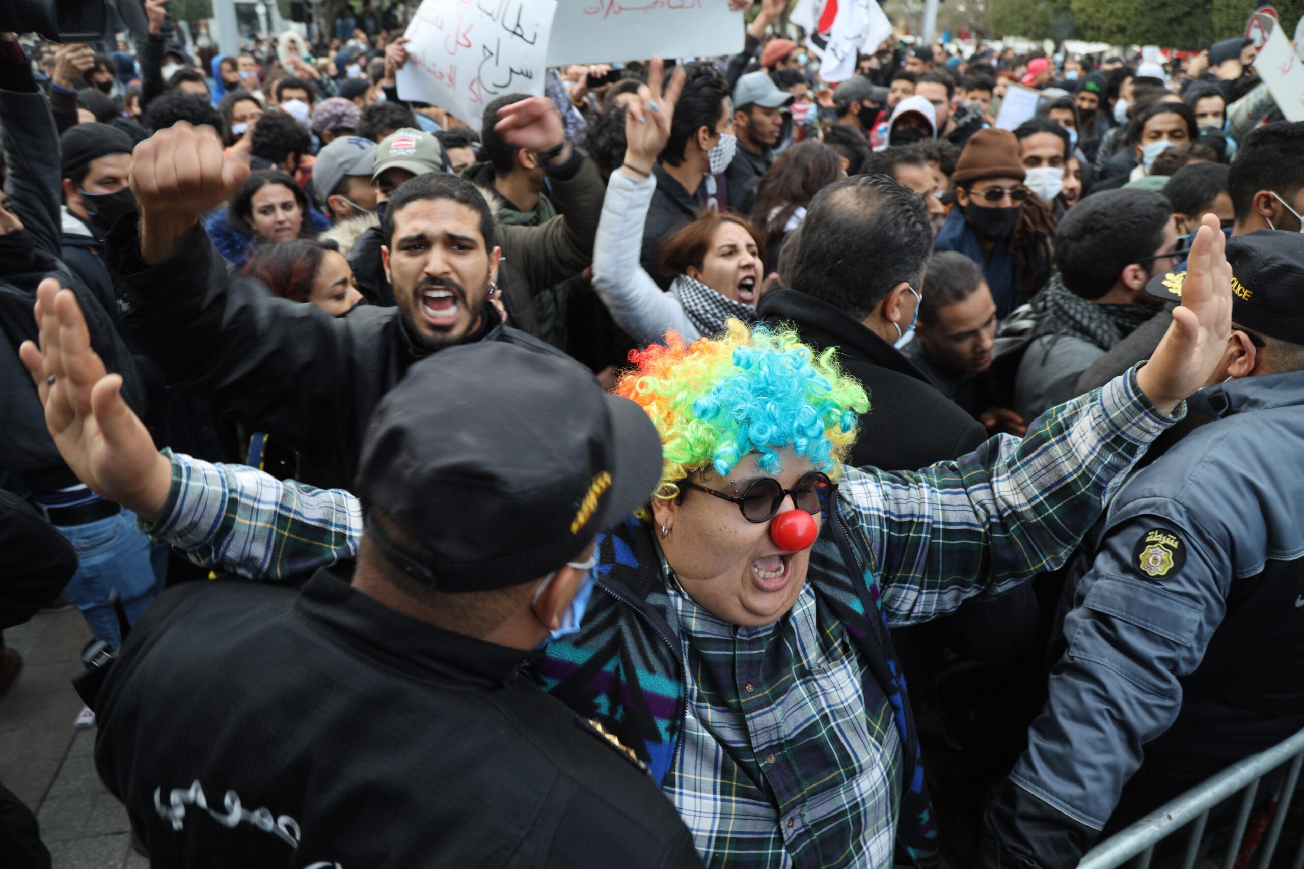 جردة الحراك: فسيفساء الحراك الاجتماعي والحقوقي في تونس سنة 2020