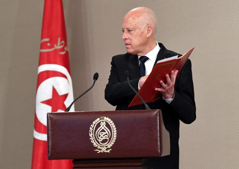 سعيد يستلم تقرير القضاء التونسي خارج الآجال الدستورية