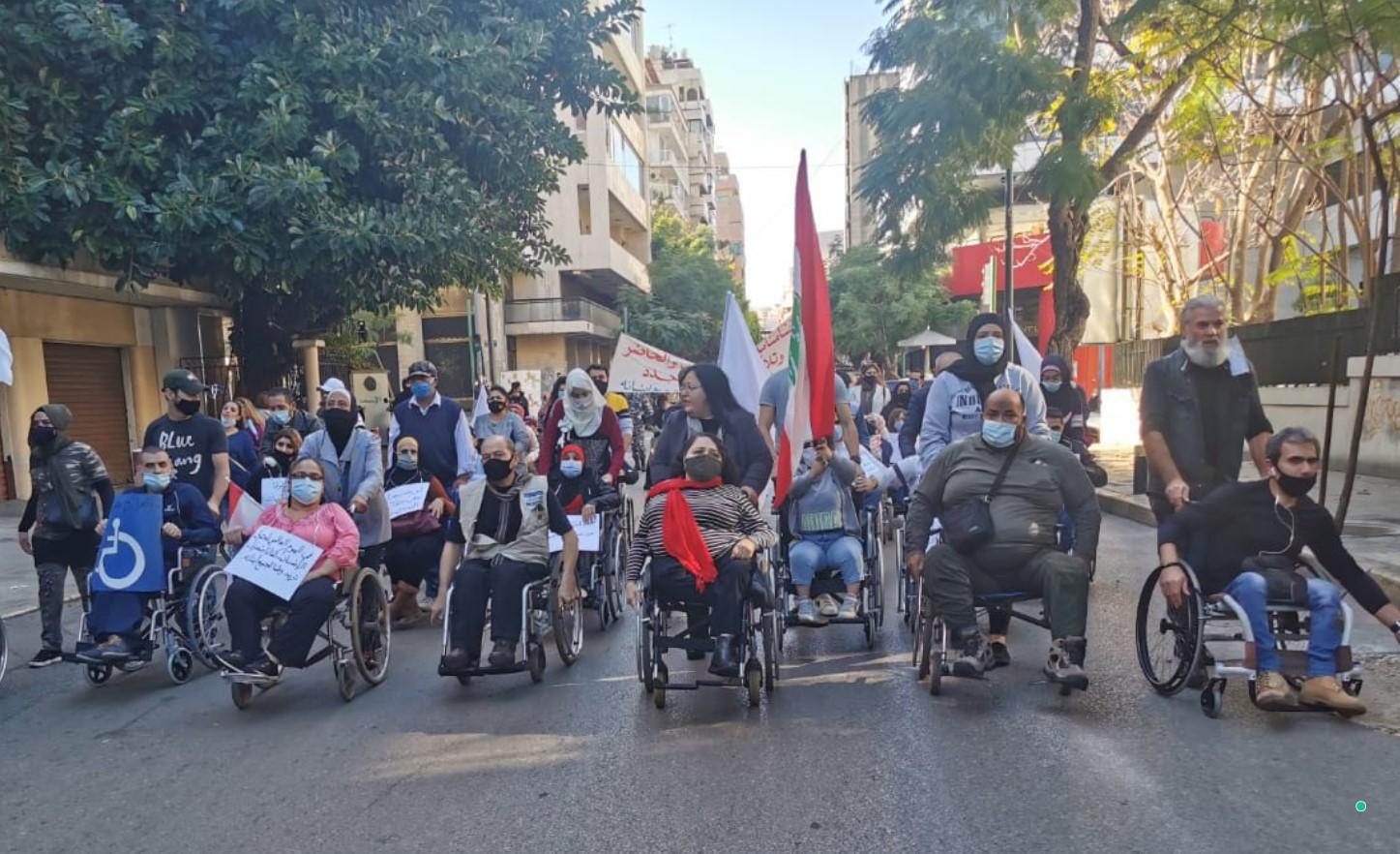 ضحايا اليوم والأمس معاً في مواجهة الجاني نفسه: المعوّقون وأهالي المفقودين يطالبون بتطبيق القانون
