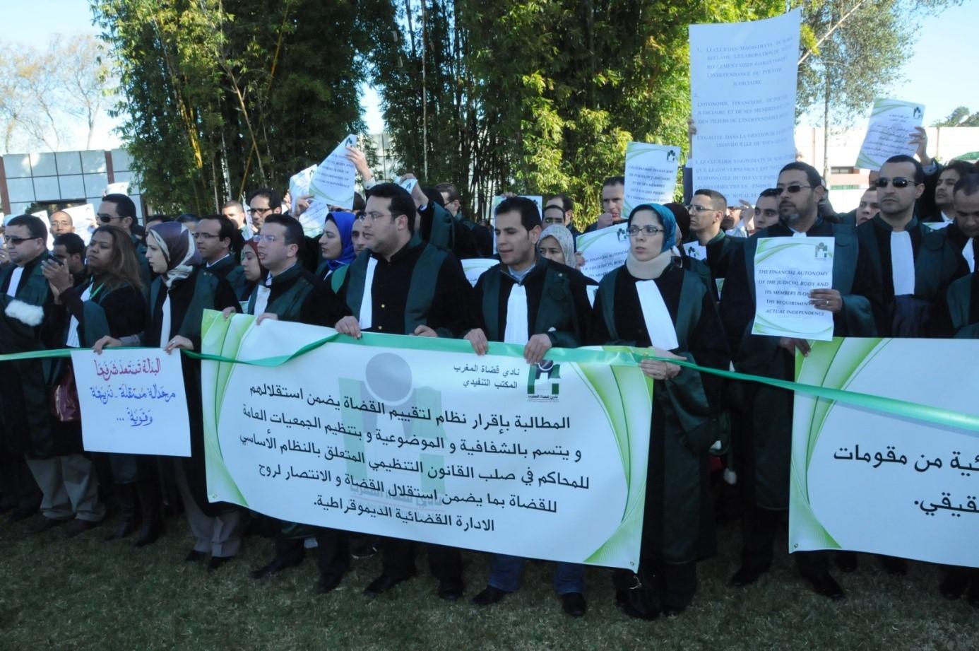 نادي قضاة المغرب يطلق مبادرة لتخفيف عبء تحرير الأحكام عن القضاة