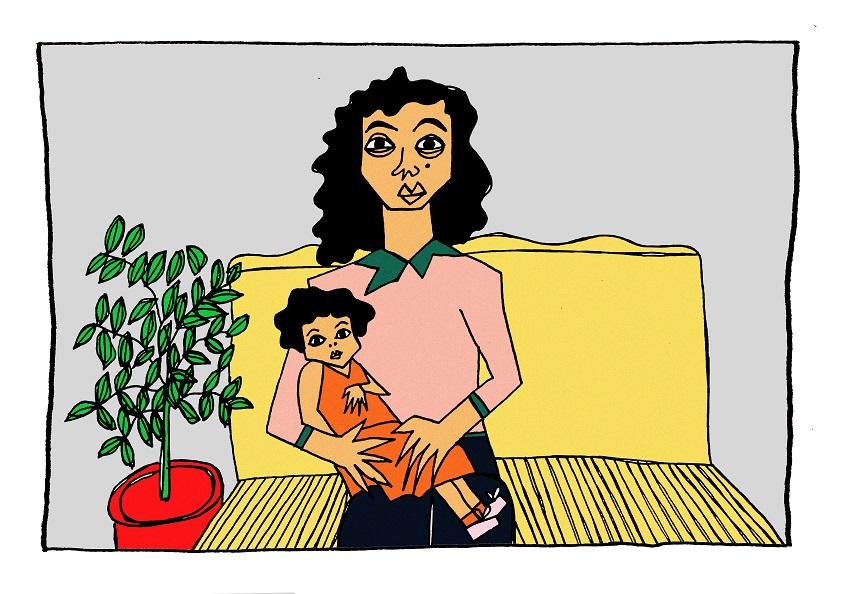 لارا الناجية من محاولة قتل على يد زوجها: دفعتُ دمي ثمناً لتحيا ابنتي بسلام
