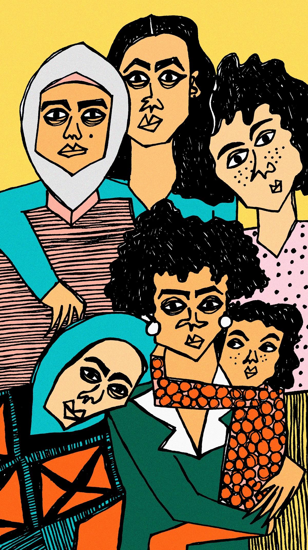 أربع جبهات للنساء ضدّ التمييز والعنف