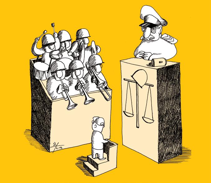 """دعاوى """"معاملة قوى الأمن بالشدّة"""" ضد متظاهرين أمام المحكمة العسكريّة: هدر للمال العام"""