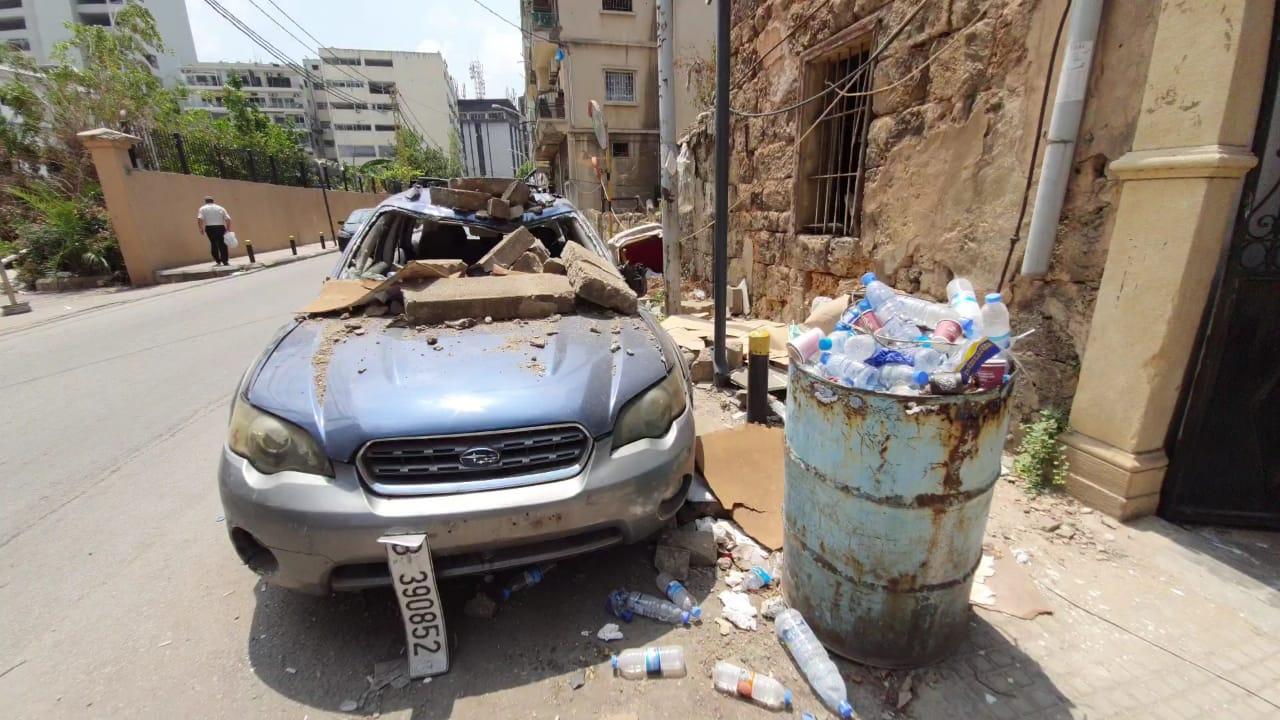 بعد مجزرة بيروت: تخبّط في التعامل مع النفايات وتحذيرات من مواد خطرة في الرّدم