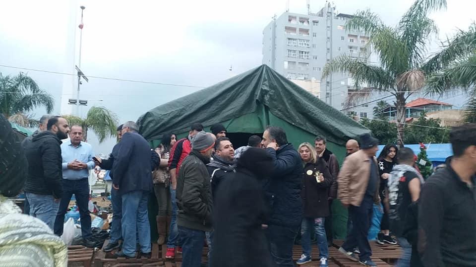 الخيم تثابر في صور والنبطية وكفررمان: رسم الإنتفاضة في الجنوب عبر نشاطات ساحاتها