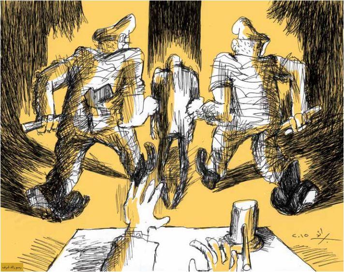 المتظاهرون في وجه النيابة العامّة العسكرية: ادّعاءات سياسة لقمع المعارضة