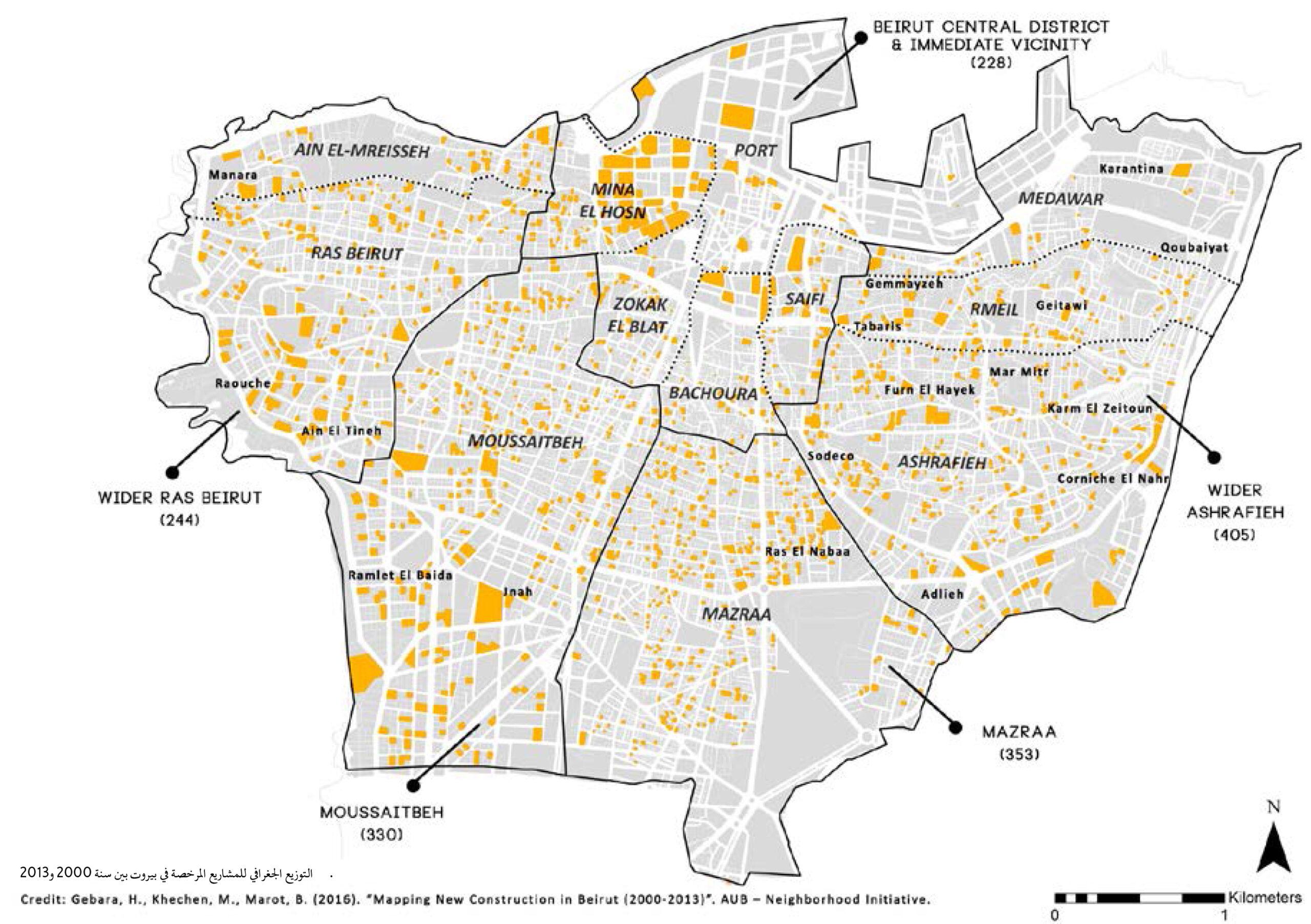 إعادة إعمار بيروت في بداية الألفيّة الثانية