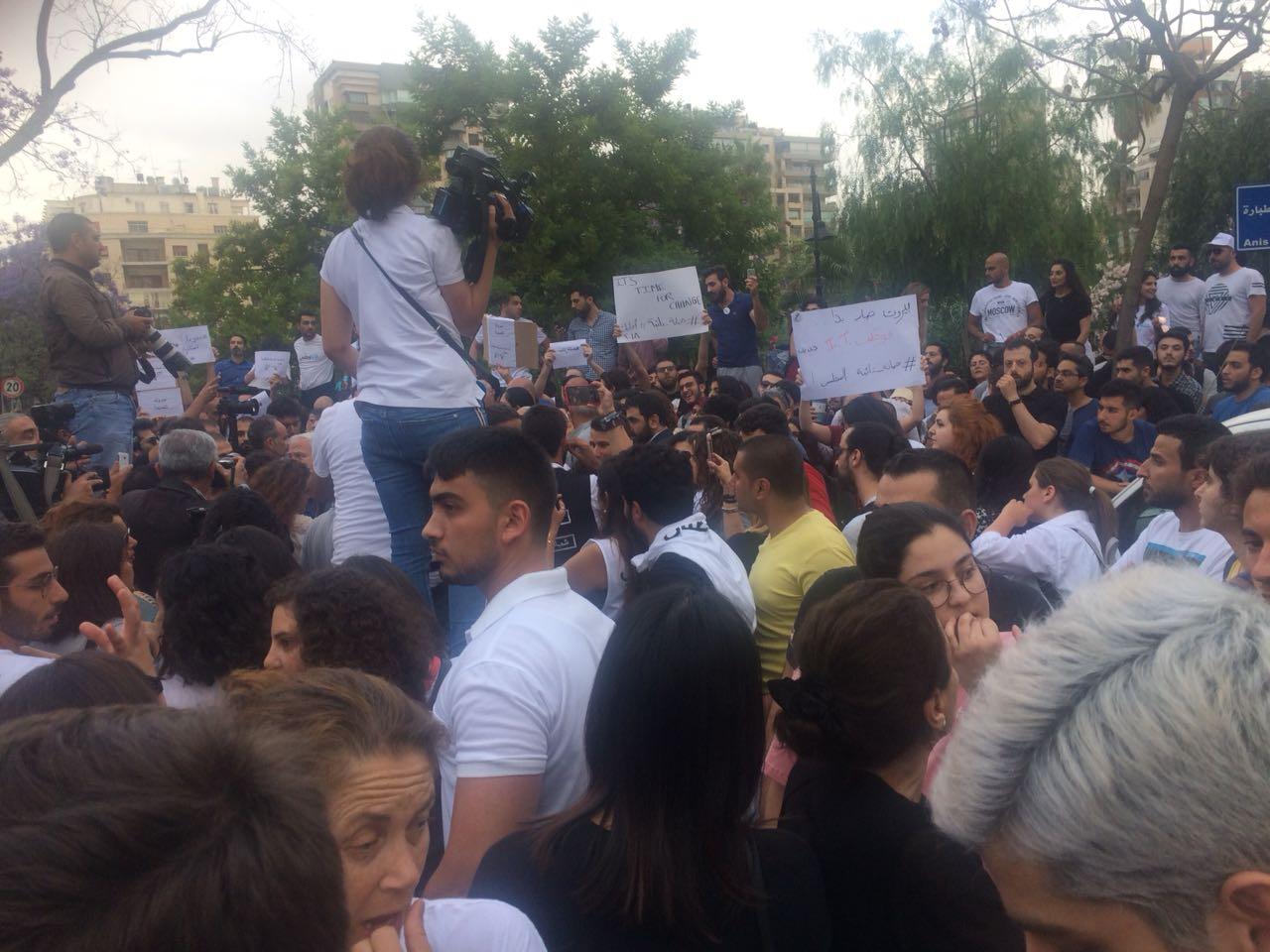 """اعتصام أمام الداخلية للتنديد ب""""إبطال نيابة"""" جمانة حداد"""