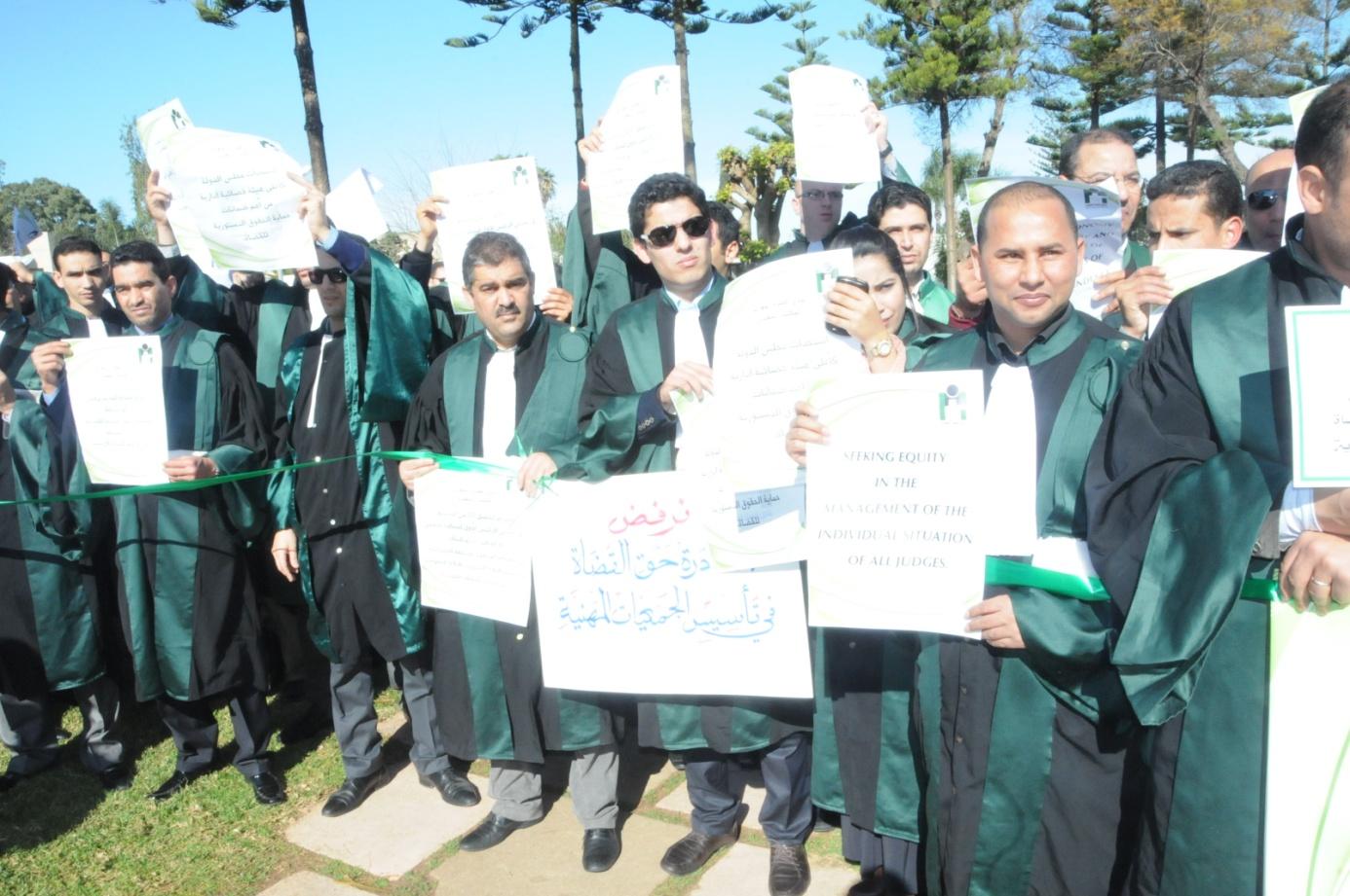 مشكل الخصاص في المحاكم المغربية