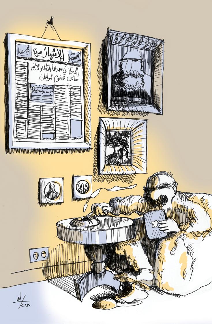حريات عامة والوصول الى المعلومات في لبنان بين فكّي مال الإعلان والسياسة