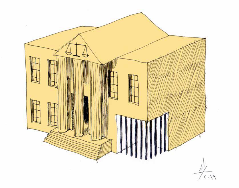 قضية عيتاني، رسم كاريكاتوري للنظام اللبنانيّ: هكذا رقصنا على مذبح المحاكمة العادلة